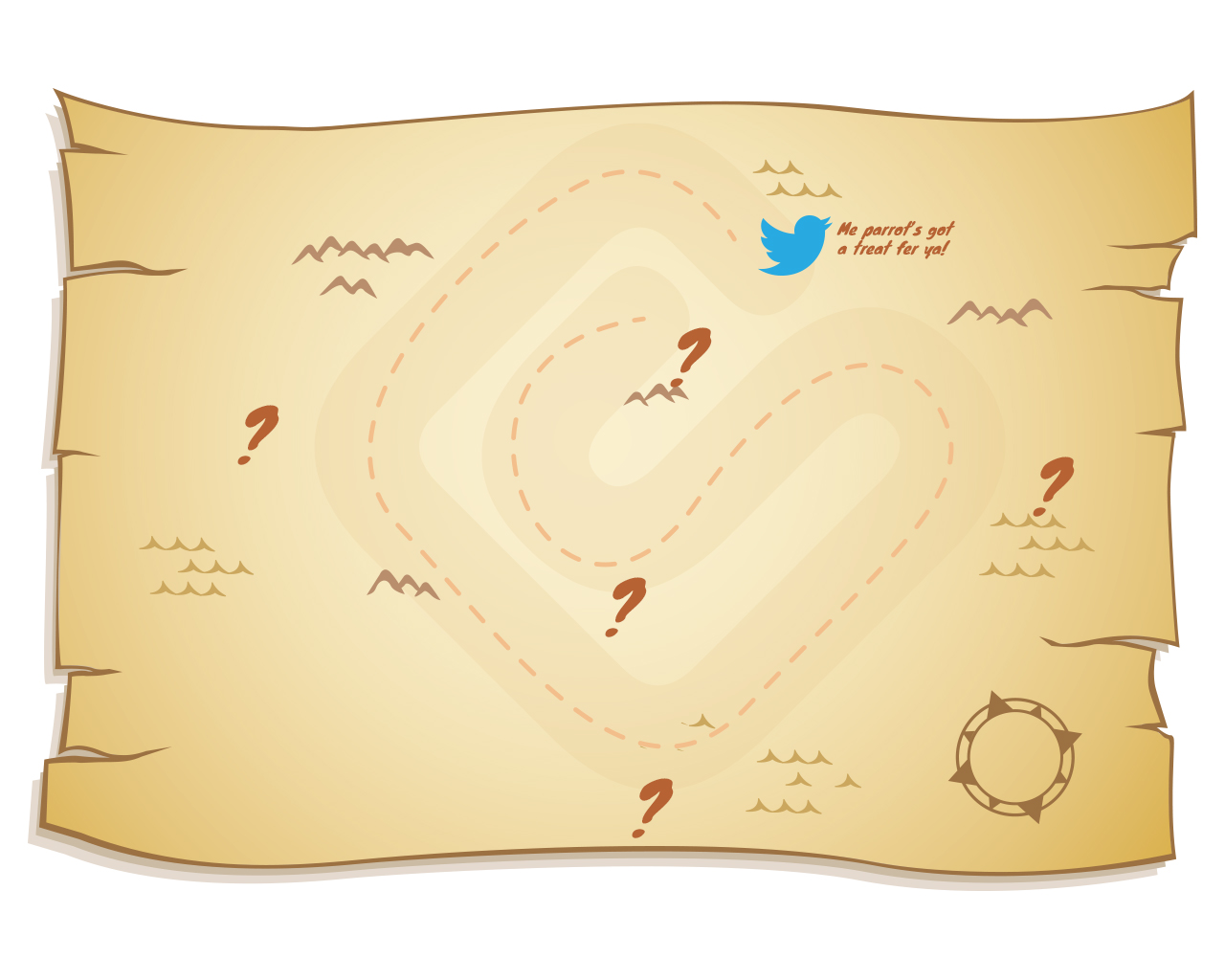 6 Best Images of Printable Treasure Hunt Map - Printable Kids Treasure Map, Blank Treasure Map ...