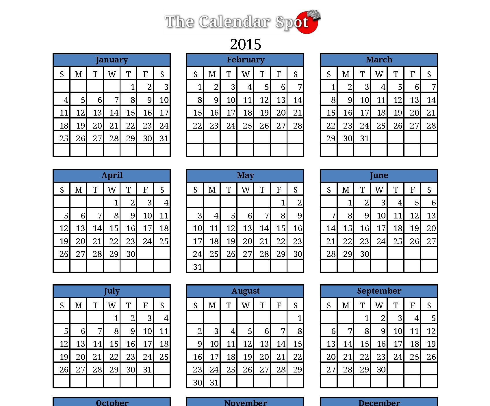 2014 2015 2016 calendar 4 three year printable excel calendars
