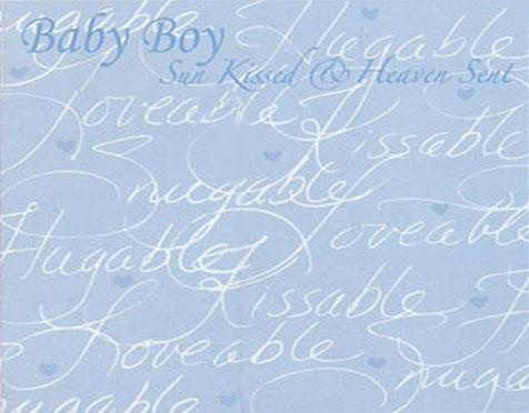 5 Images of Baby Boy Printable Paper Buttons