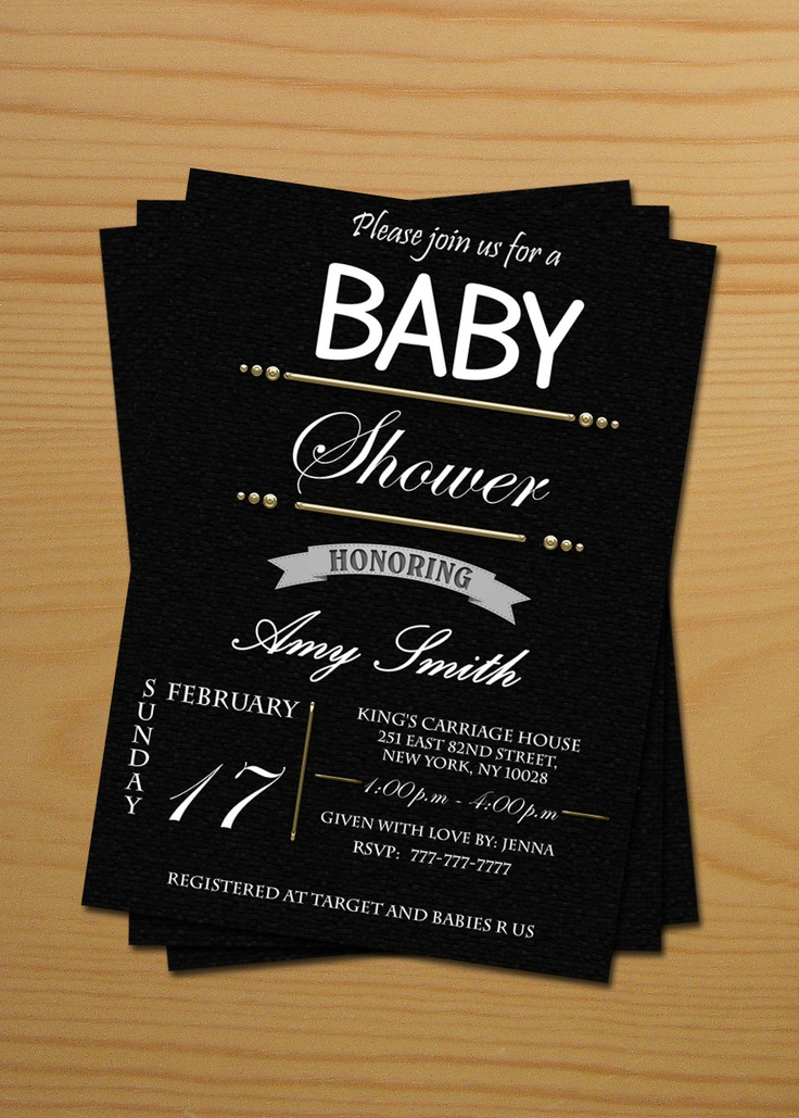 black and white visual stimulation baby and baby shower bingo cards