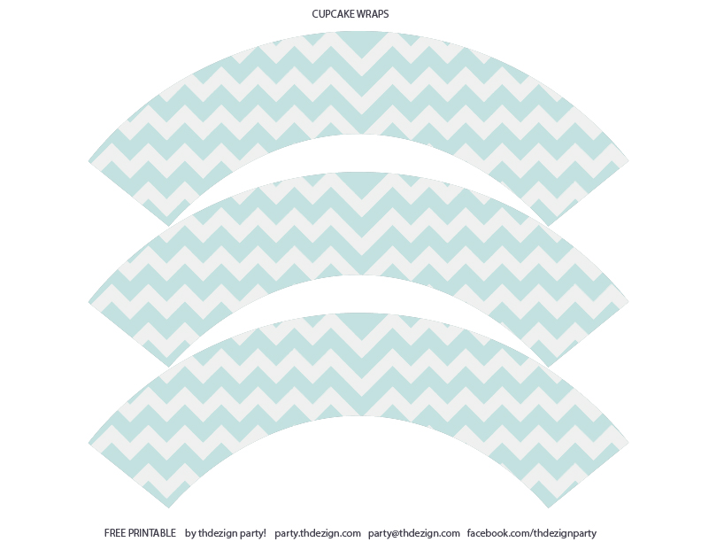 Chevron Party Printables Free