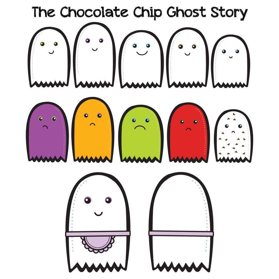Chocolate Chip Ghost Story Printable