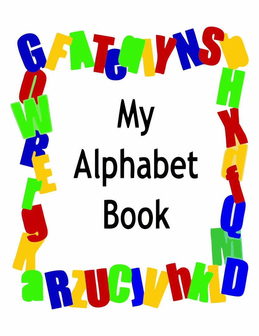 5 Best Images Of Printable Alphabet Book Cover