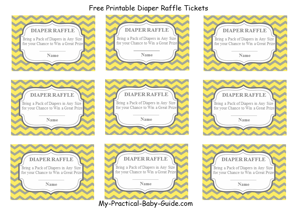 See Free Printable Baby Diaper Raffle Tickets, Free Printable Diaper ...