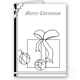 4 Images of Motorcycle Free Printable Christmas Cards To Color