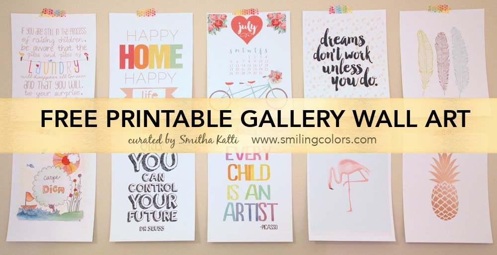 8 Images of Wall Gallery Printables Popular