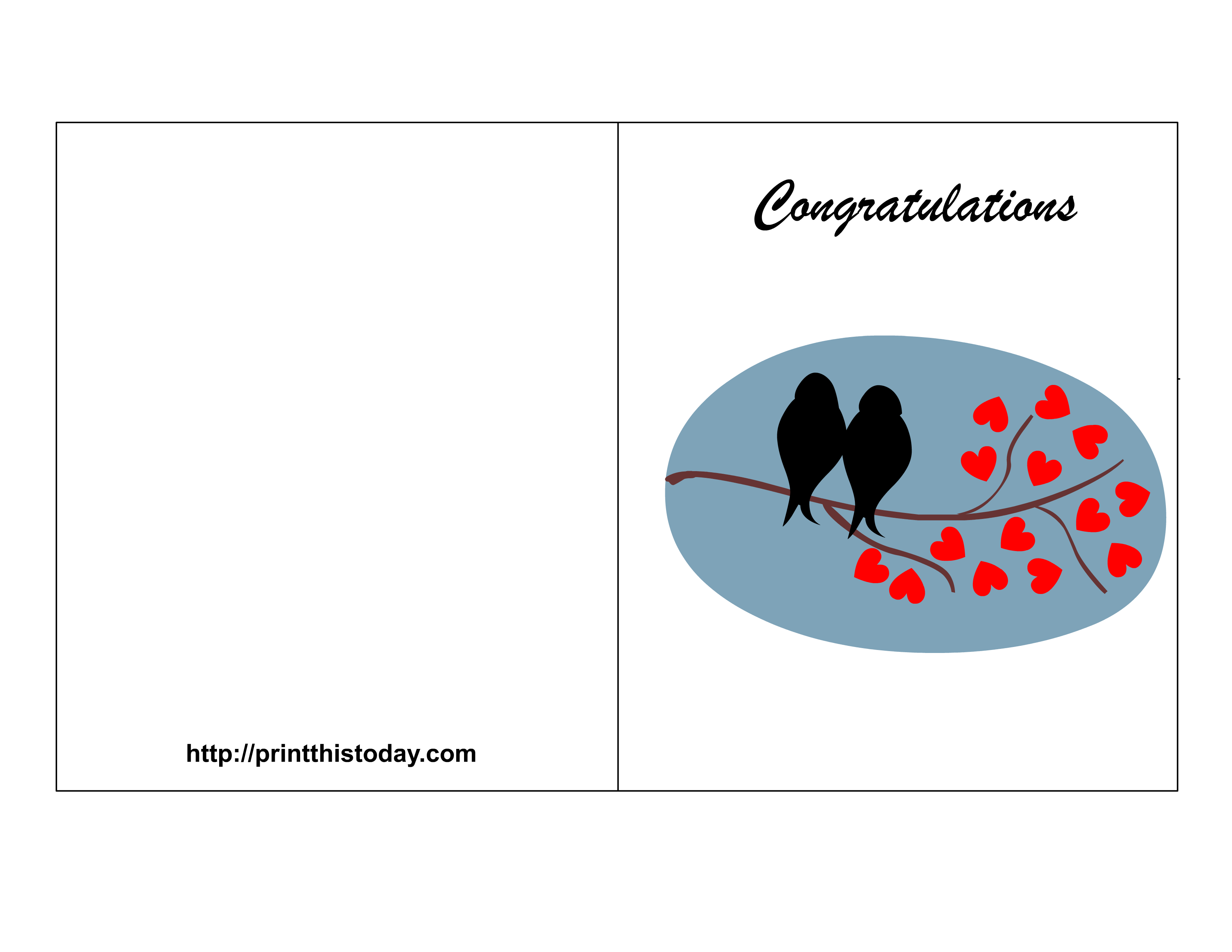 6 Images of Free Printable Congratulations Greeting Card