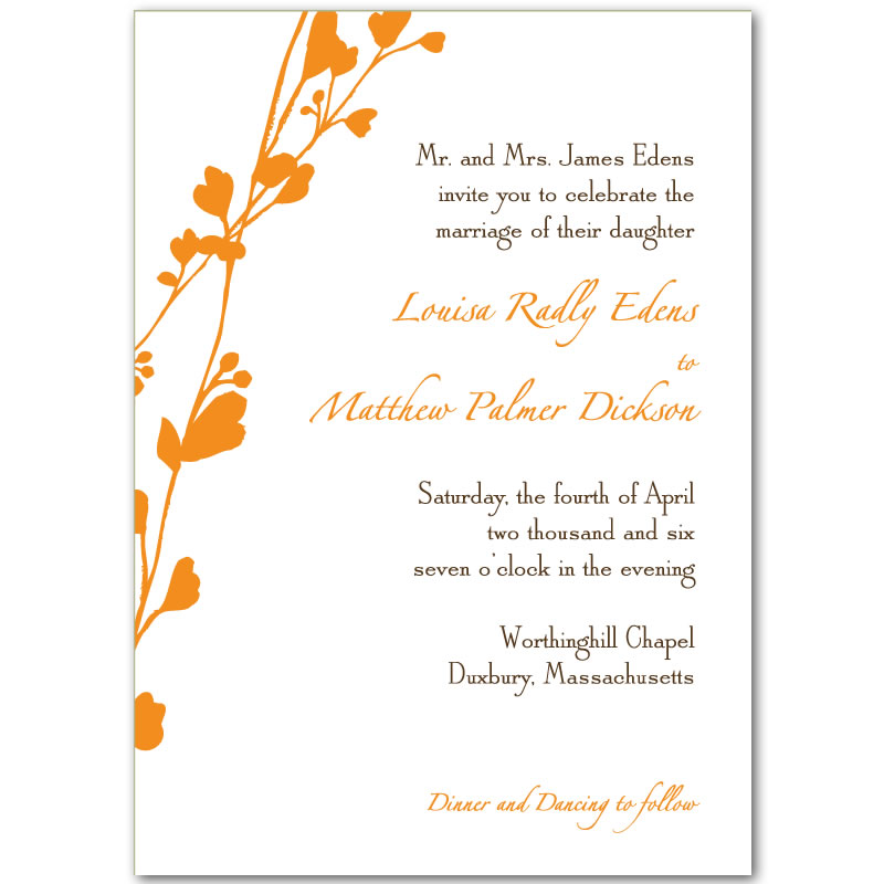 6 Images of Free Printable Wedding Invitation Cards