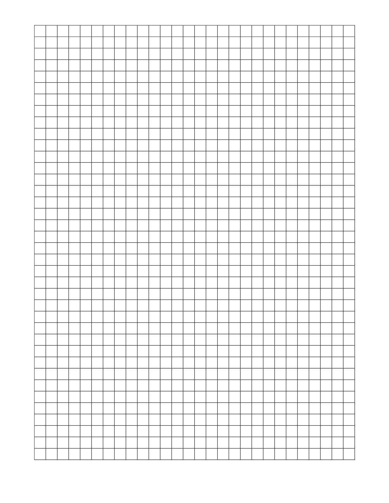 7 Images of Printable Graph Paper Word