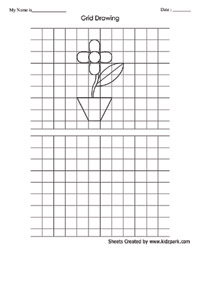 grid drawing worksheets for middle school grid drawings on pinterest chuck close sub plans and. Black Bedroom Furniture Sets. Home Design Ideas