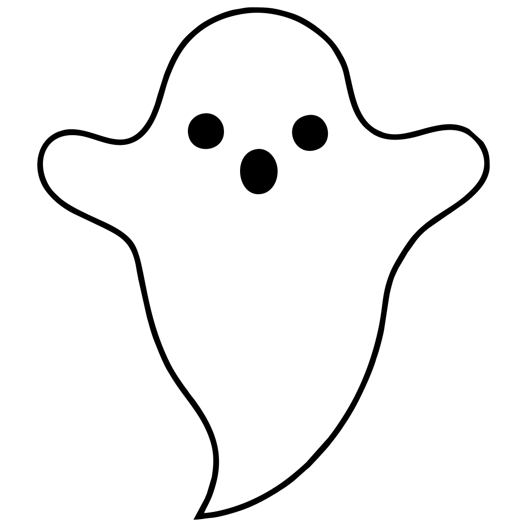 Halloween Ghost Templates Free