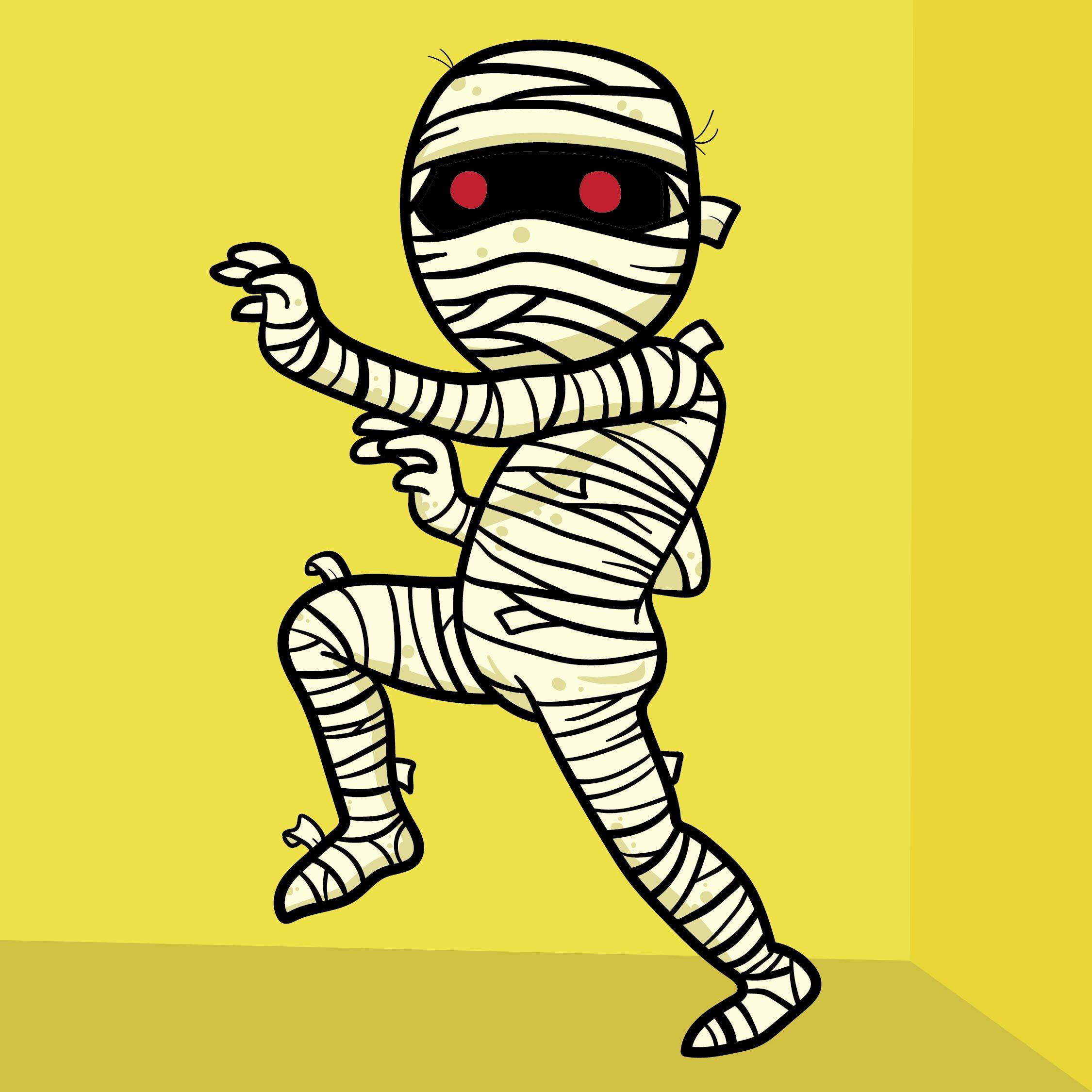 Halloween Mummy Clip Art Free