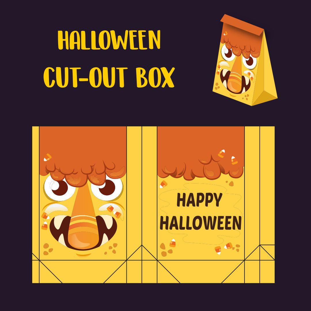 Halloween Paper Treat Boxes