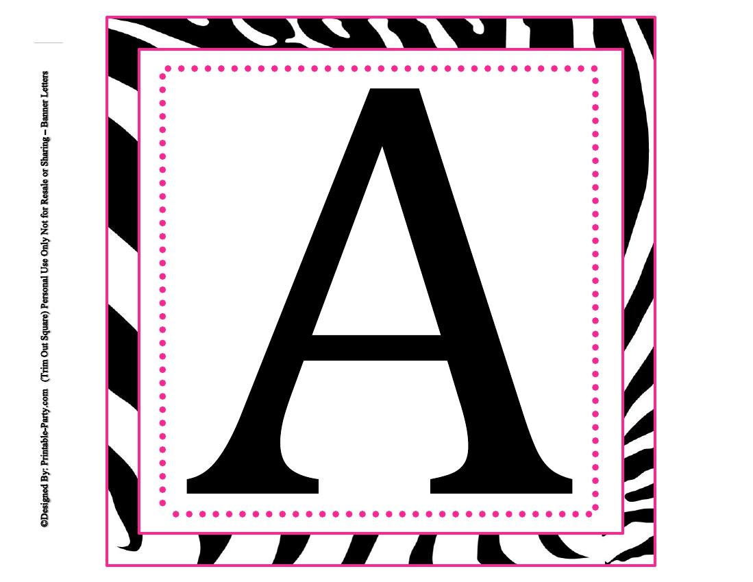 Monogram Letters Printable Pdf