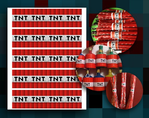 7 best images of minecraft tnt free printables free