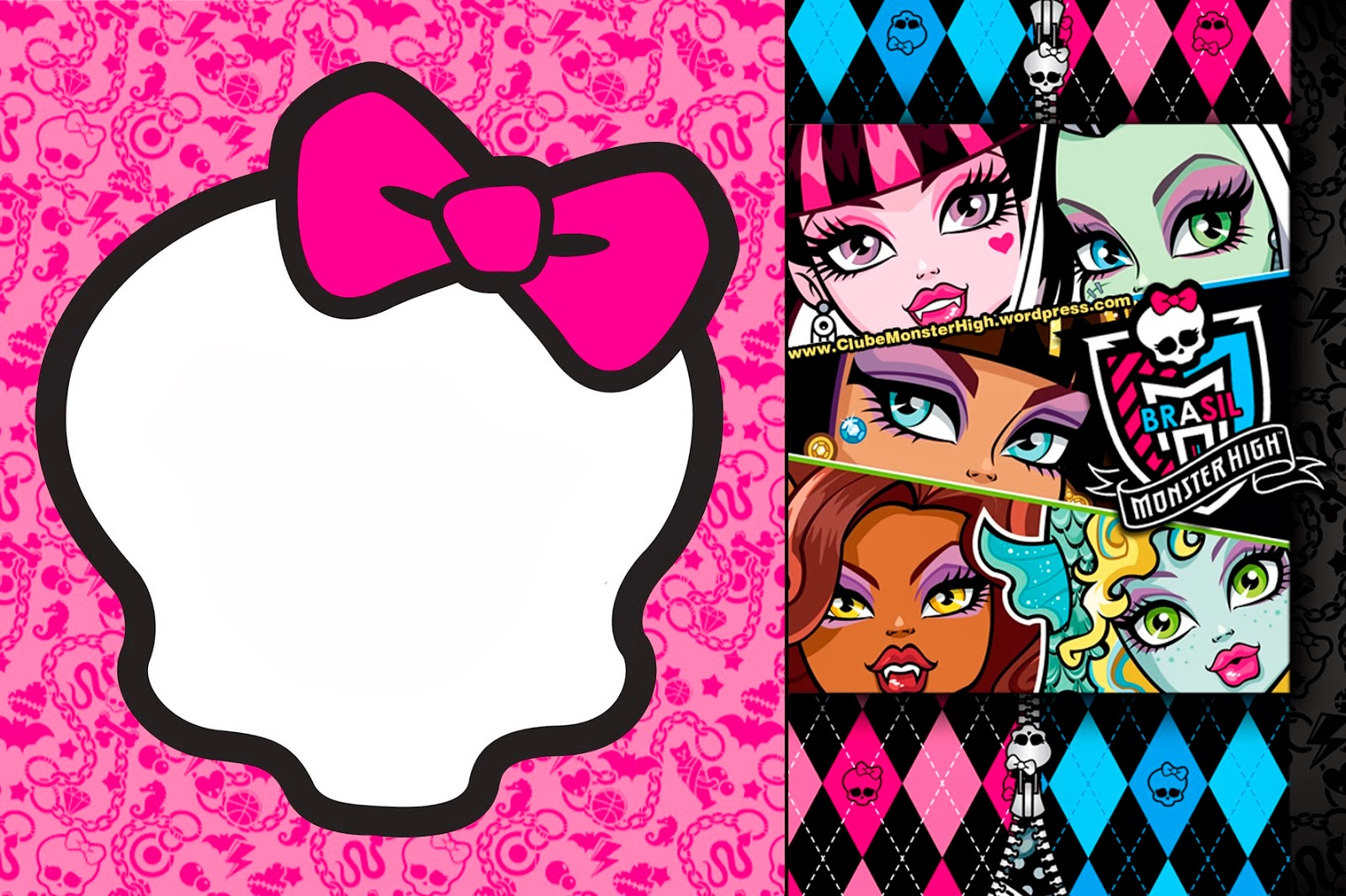 Monster High Birthday Printables Free