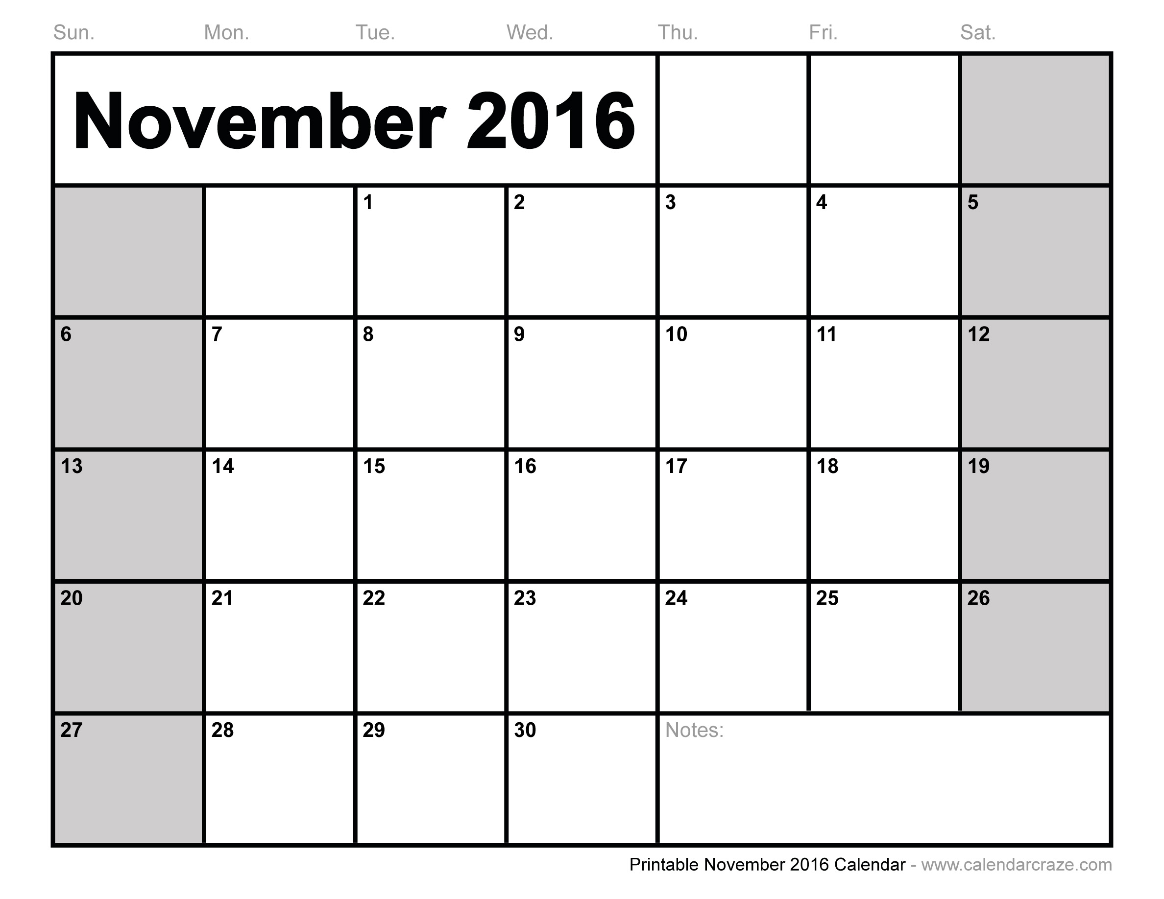 November Monthly Calendar : Best images of november monthly calendar printable