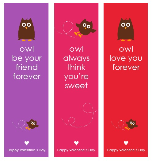 7 Images of Valentine's Day Bookmarks Printable Free