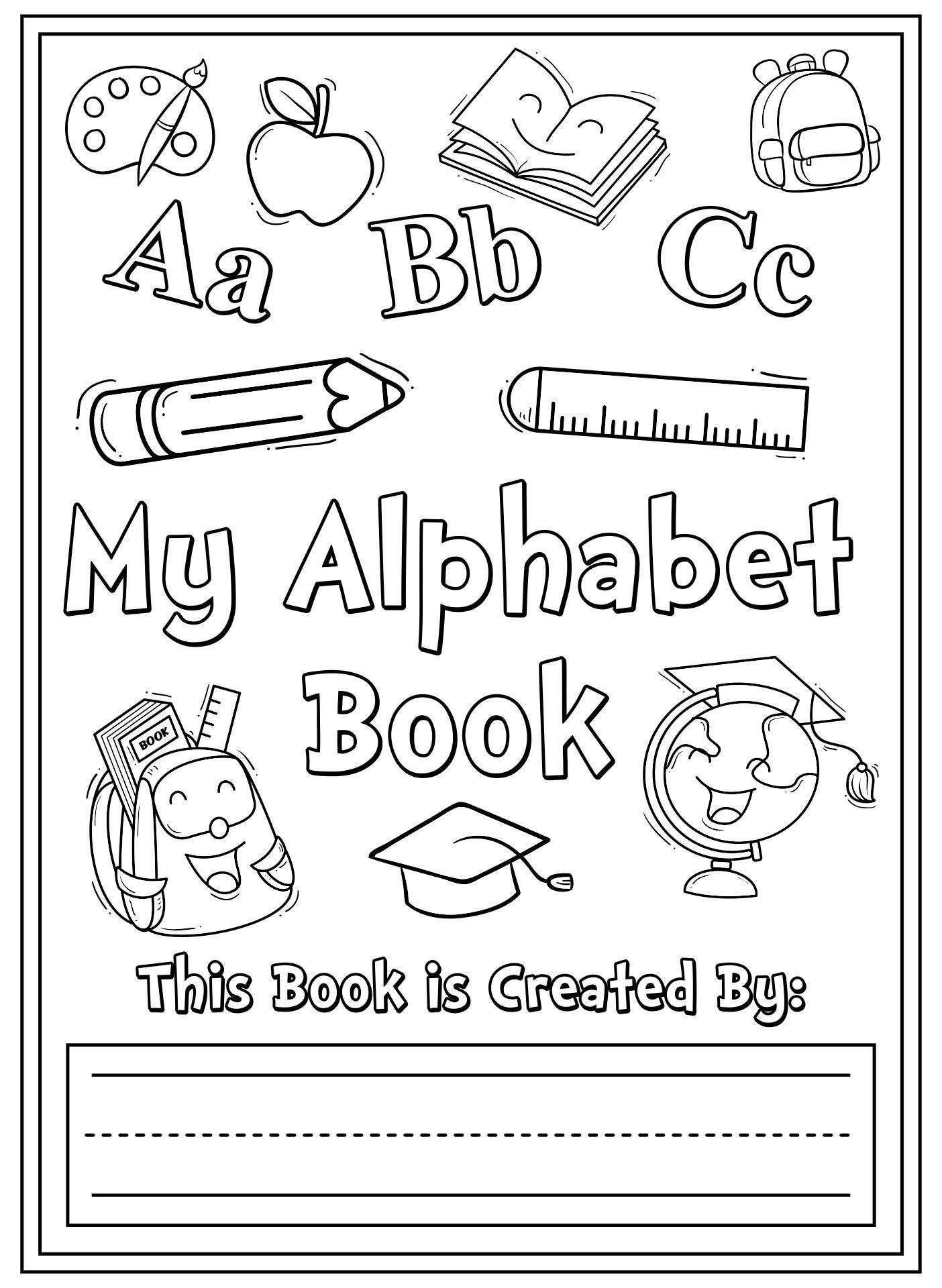 Printable Alphabet Letter Books