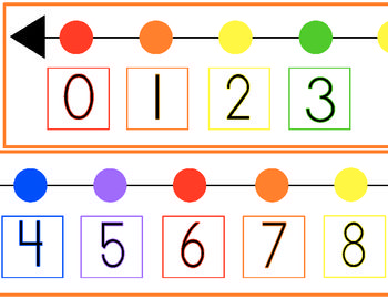 4 Images of Printable Number Lines 1-60
