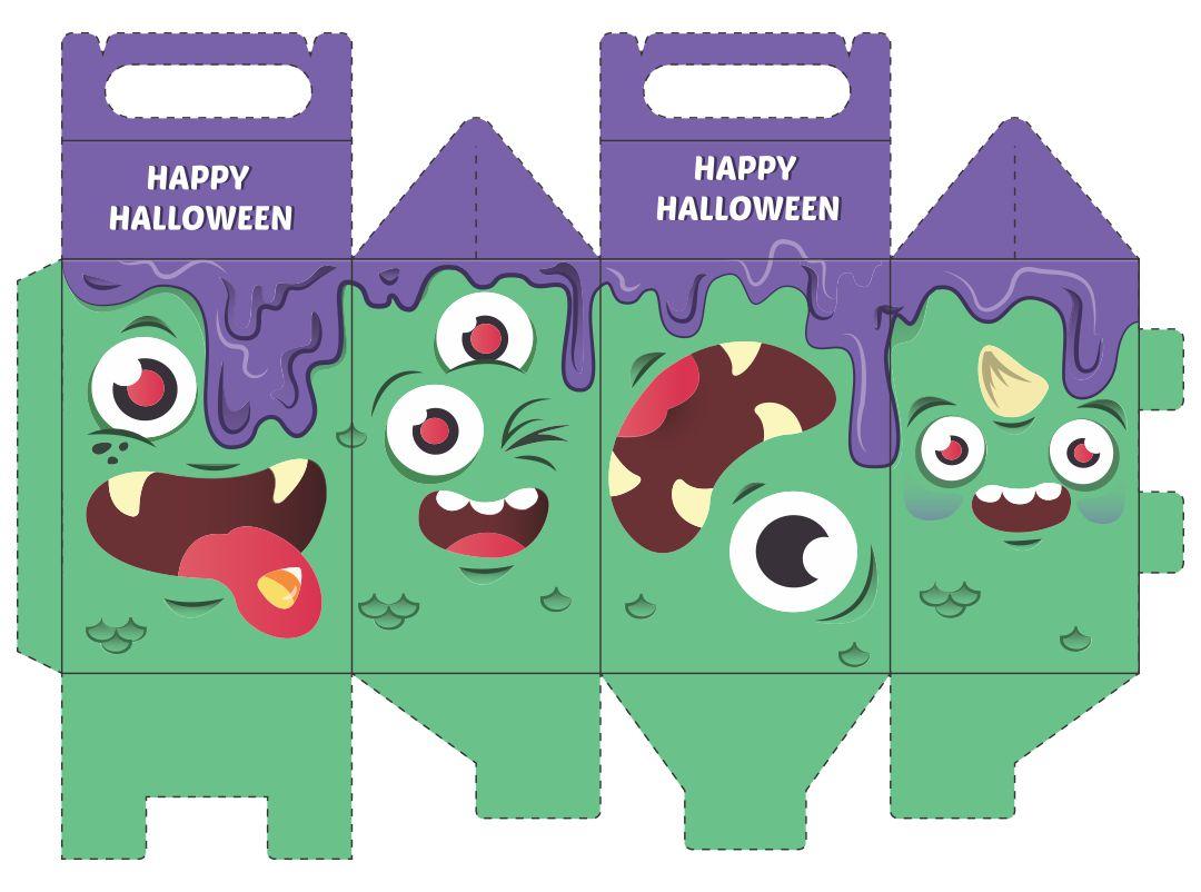Printable Halloween Goodie Bags