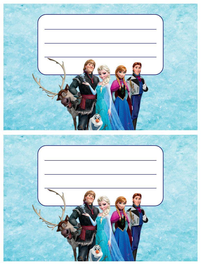 Printable Happy Birthday Cards Frozen Elsa
