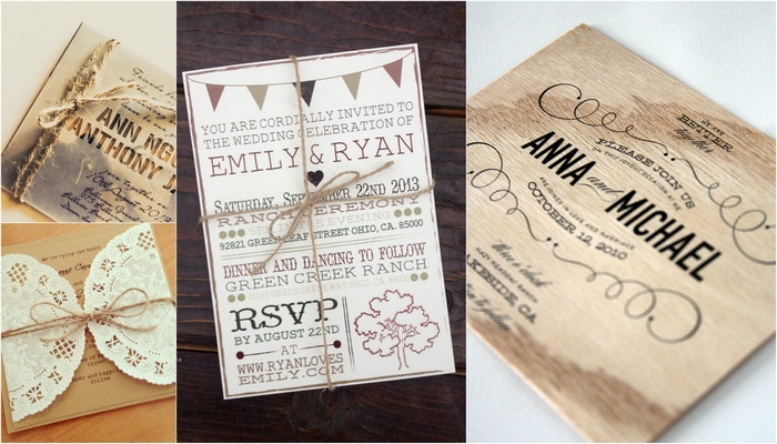 5 Images of Rustic Wedding Invitations Printables