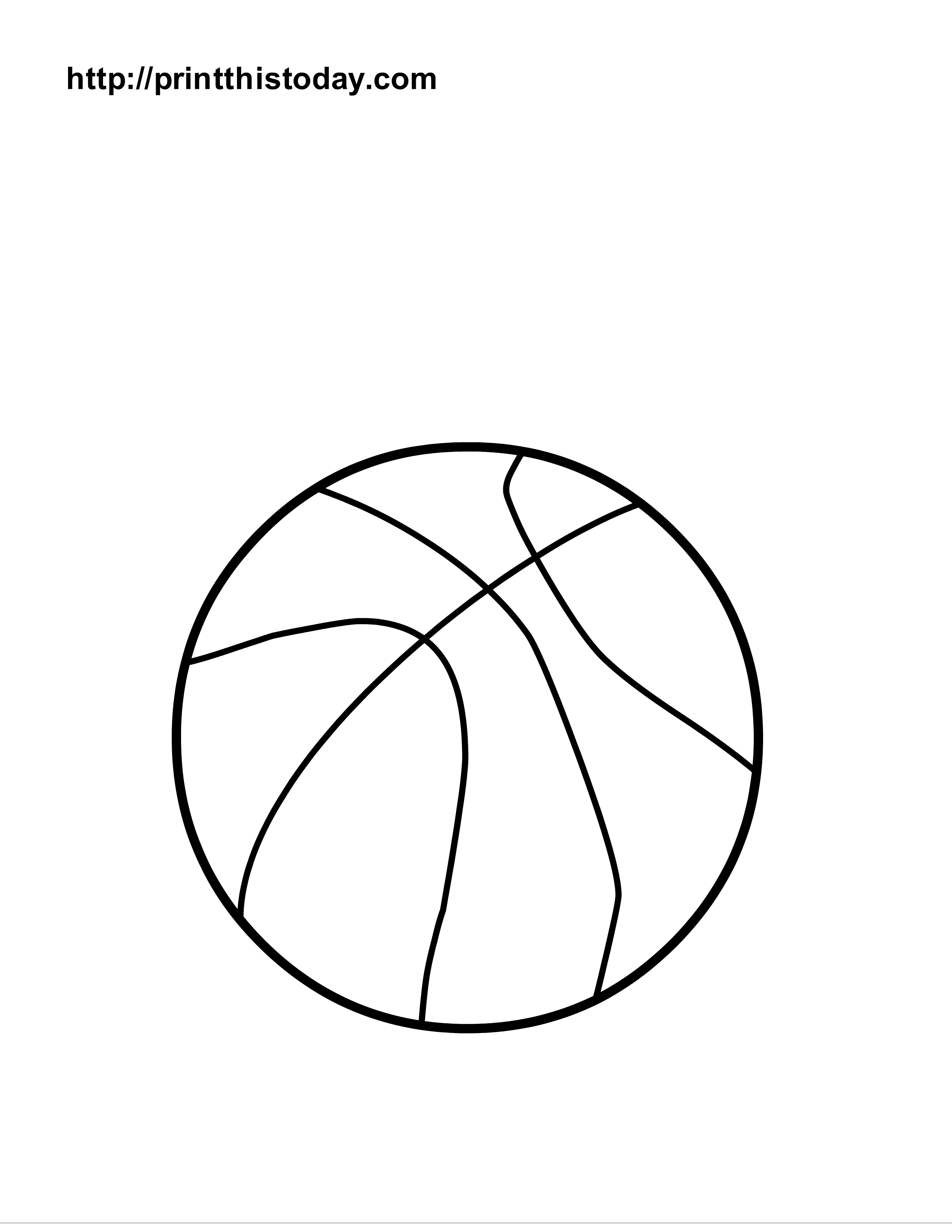 5 Images of Printable Ball Coloring
