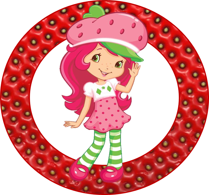 4 Images of Strawberry Shortcake Free Printables