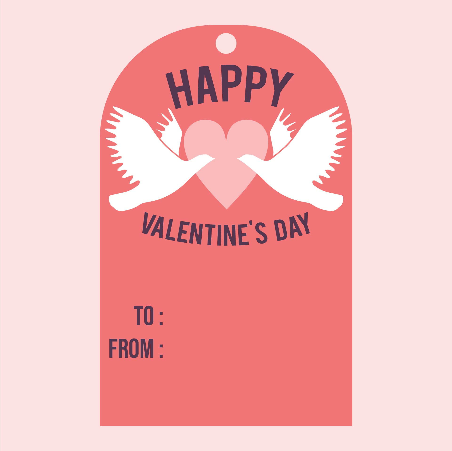 Valentine Gift Tag Printables Free