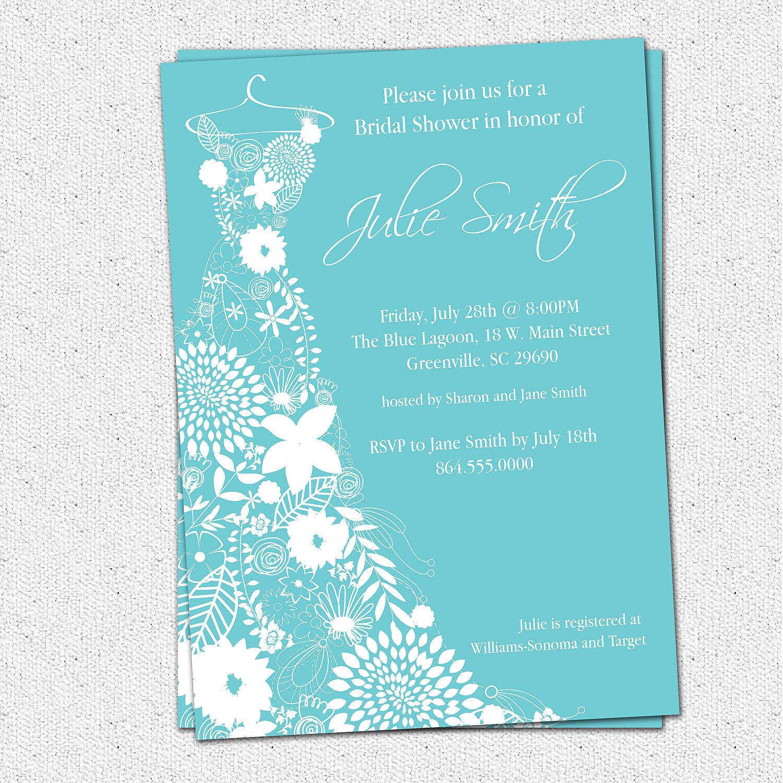 6 Images of Free Printable Bridal Shower Wedding Invitations