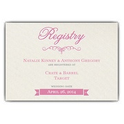 Wedding Registry Gift Cards Only : Wedding Registry Card Inserts, Invitations for Wedding Gift Registry ...