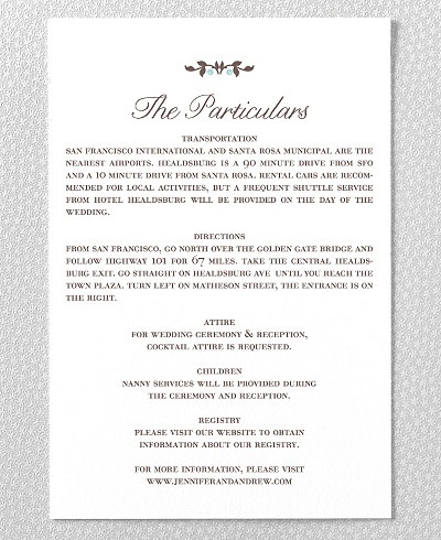 Wedding Gift Information Card : ... Card Inserts, Invitations for Wedding Gift Registry Cards and Wedding