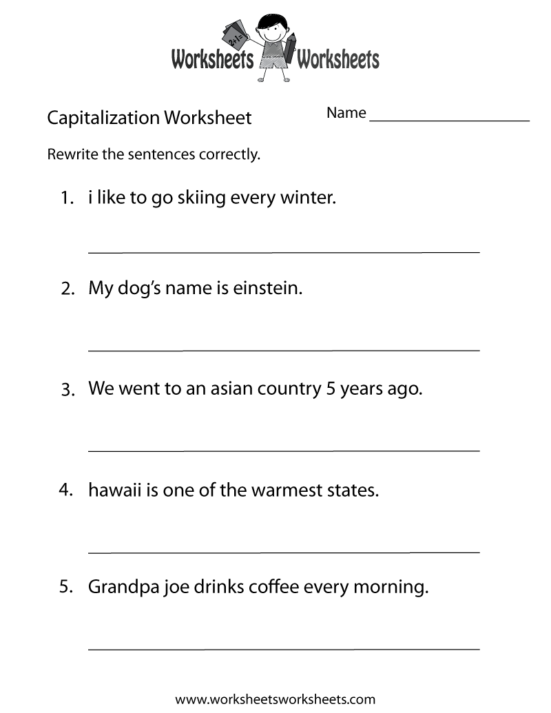 4 Images of Printable Worksheets Middle School
