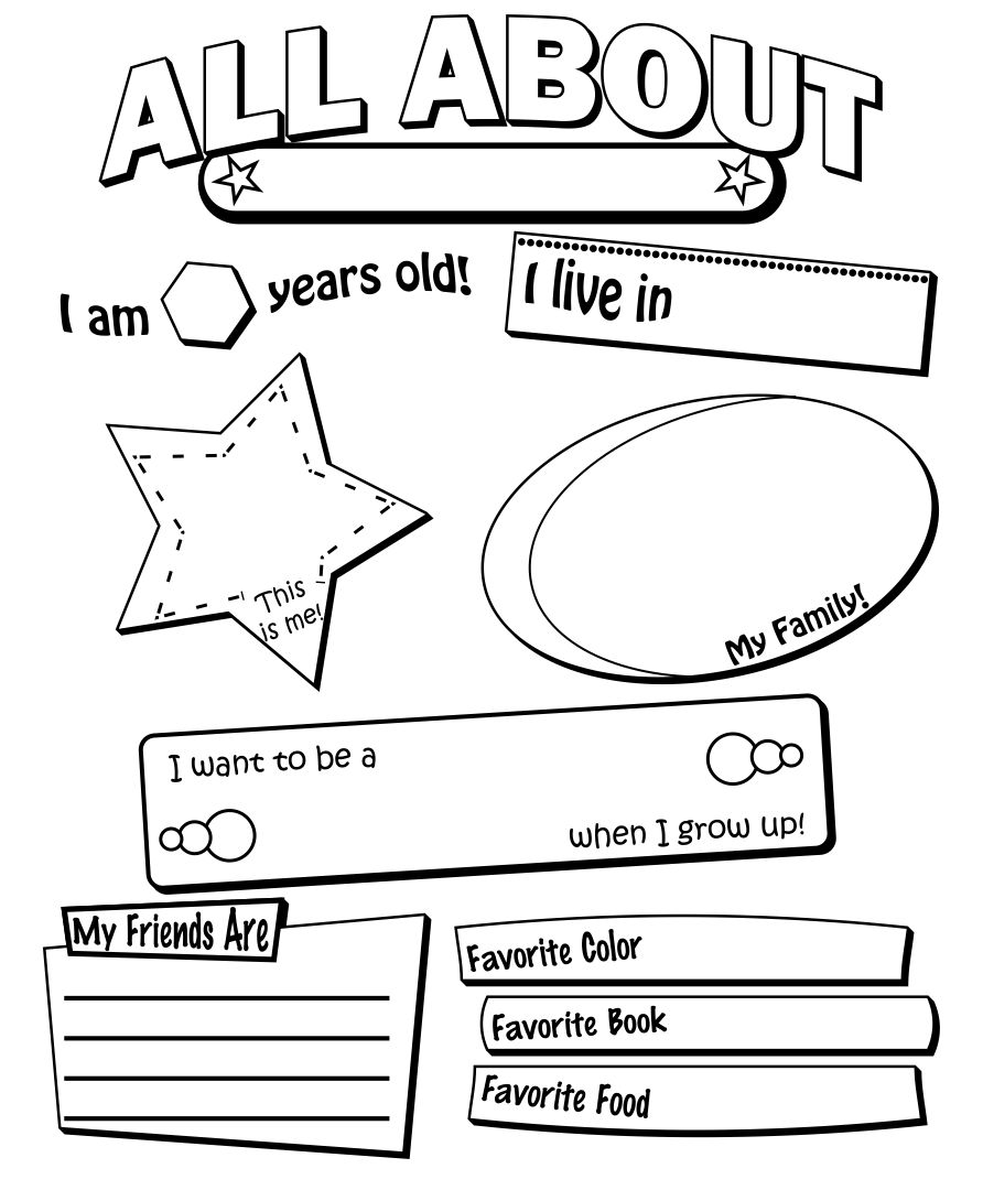 Post_free Printable All About Me Form For High School_31524