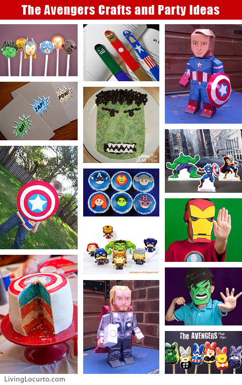 4 Images of Avengers 2012 Printables