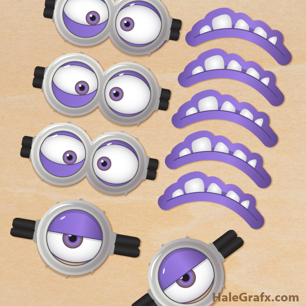 8 Images of Purple Minion Printables