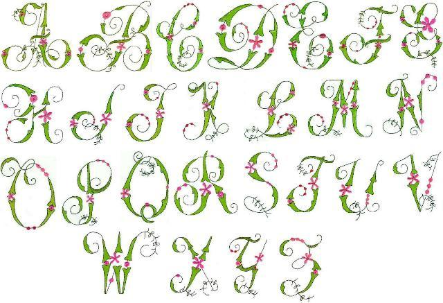 7 best images of fancy alphabet letters printable for Fancy alphabet letter templates