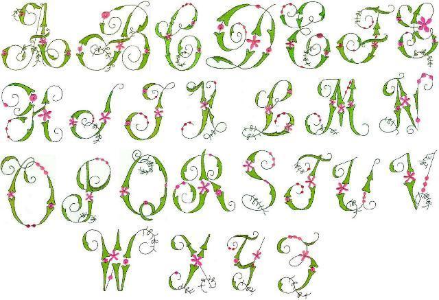 7 best images of fancy alphabet letters printable for Fancy alphabet letter templates