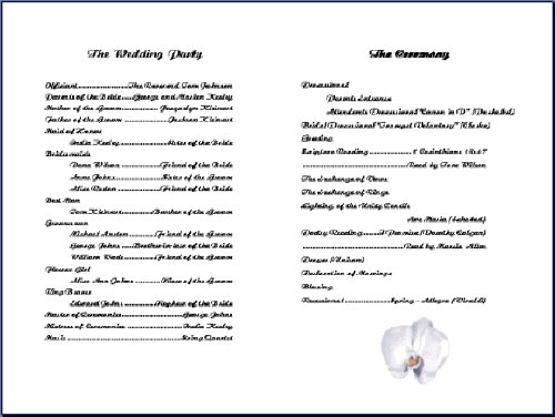 6 best images of free printable church program template for Free templates for church bulletins