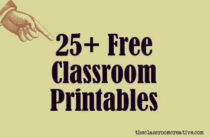 7 Images of Free Teacher Printables Classroom
