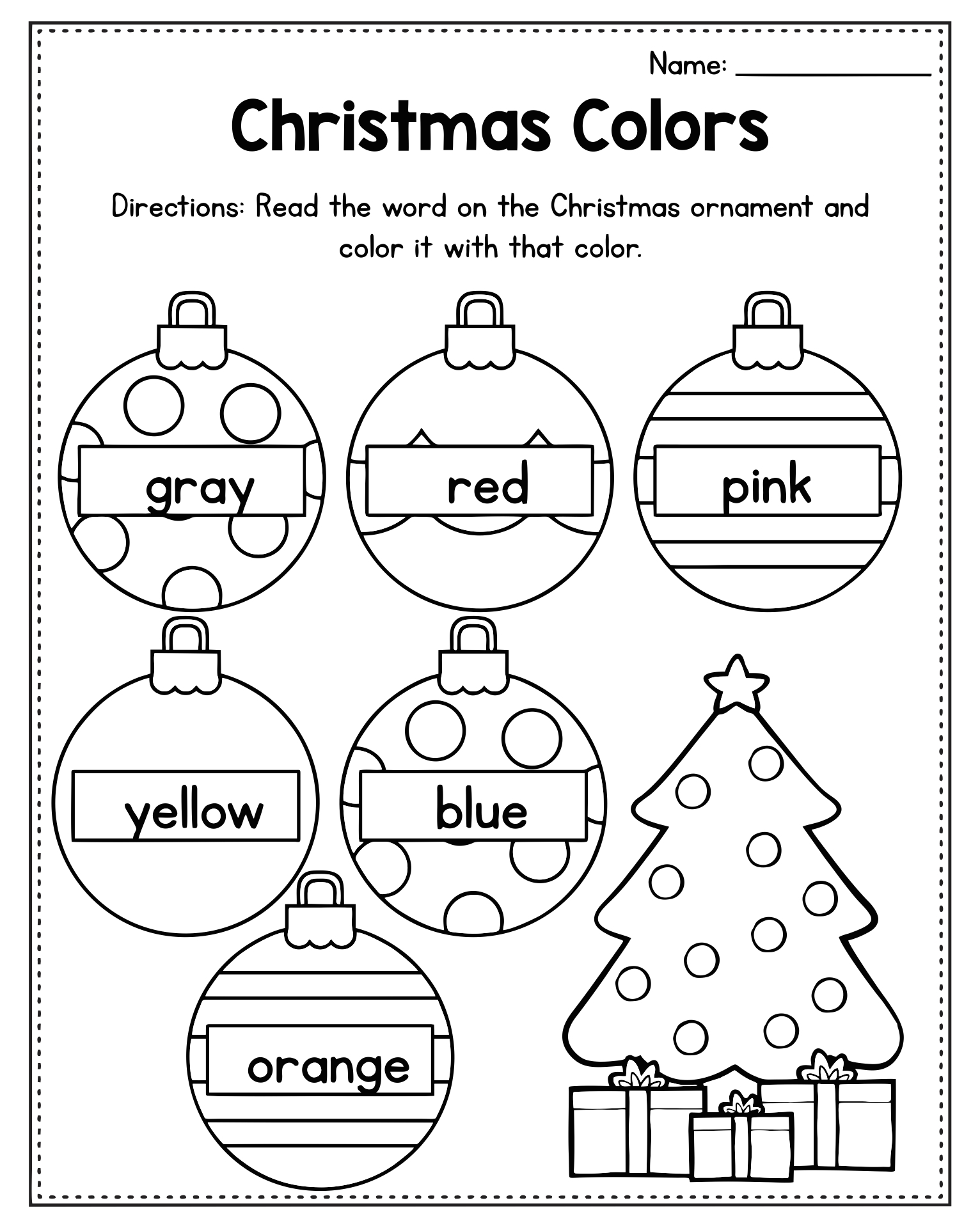 number names worksheets free printable activity sheets for preschoolers christmas activity sheets for kindergarten - Activity Sheet For Preschoolers