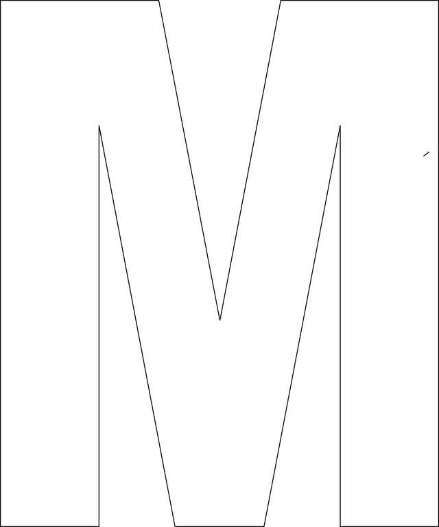 Alphabet Block Letter Prints