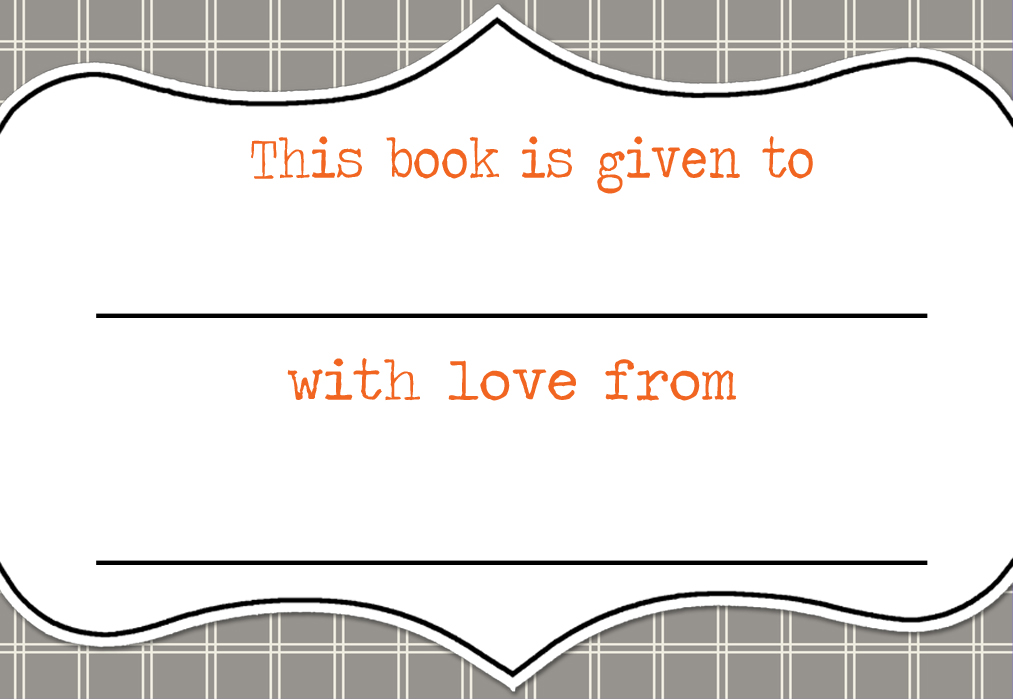 4 Images of Free Printable Bookplates Template