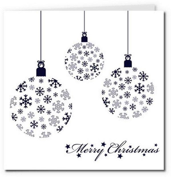 Printable Christmas Card Designs