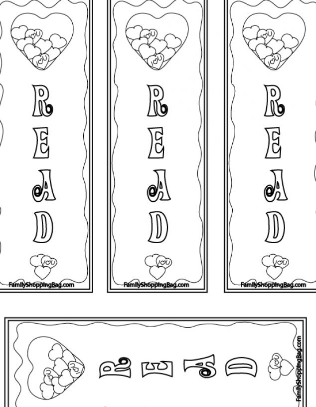 Free Printable Color Bookmarks