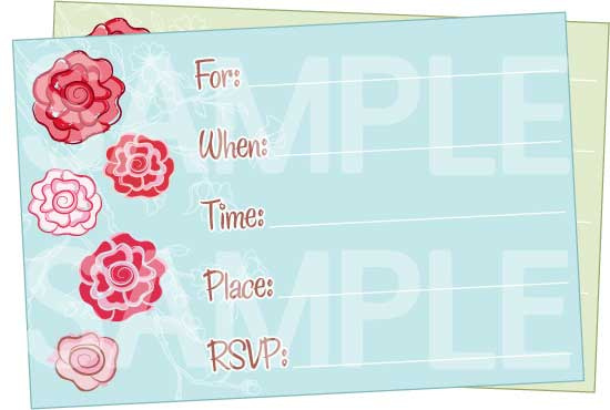 5 Images of Cute Printable Birthday Invitations