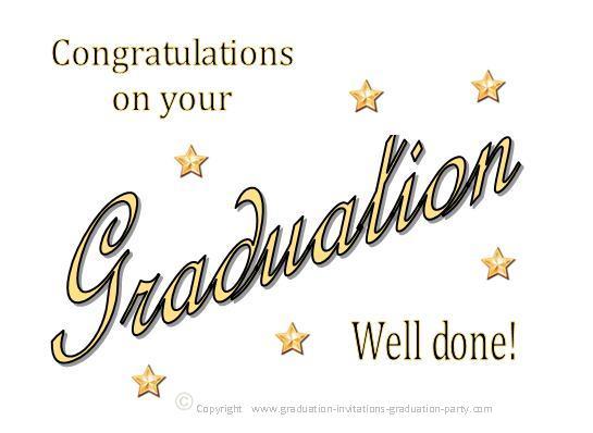 Free Printable Graduation Congratulation Cards