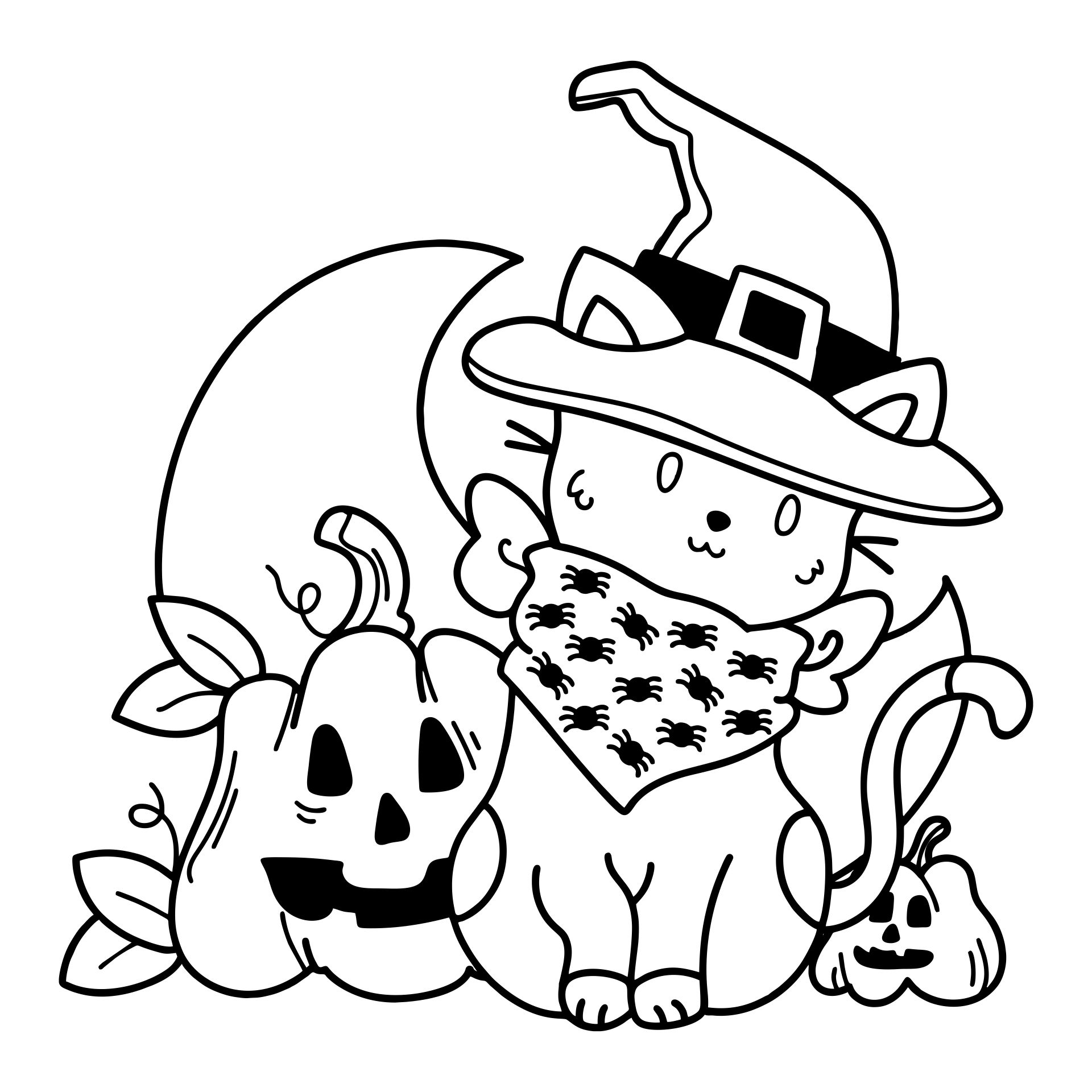 4 best images of pre school halloween activity printable for Pre k coloring pages printables