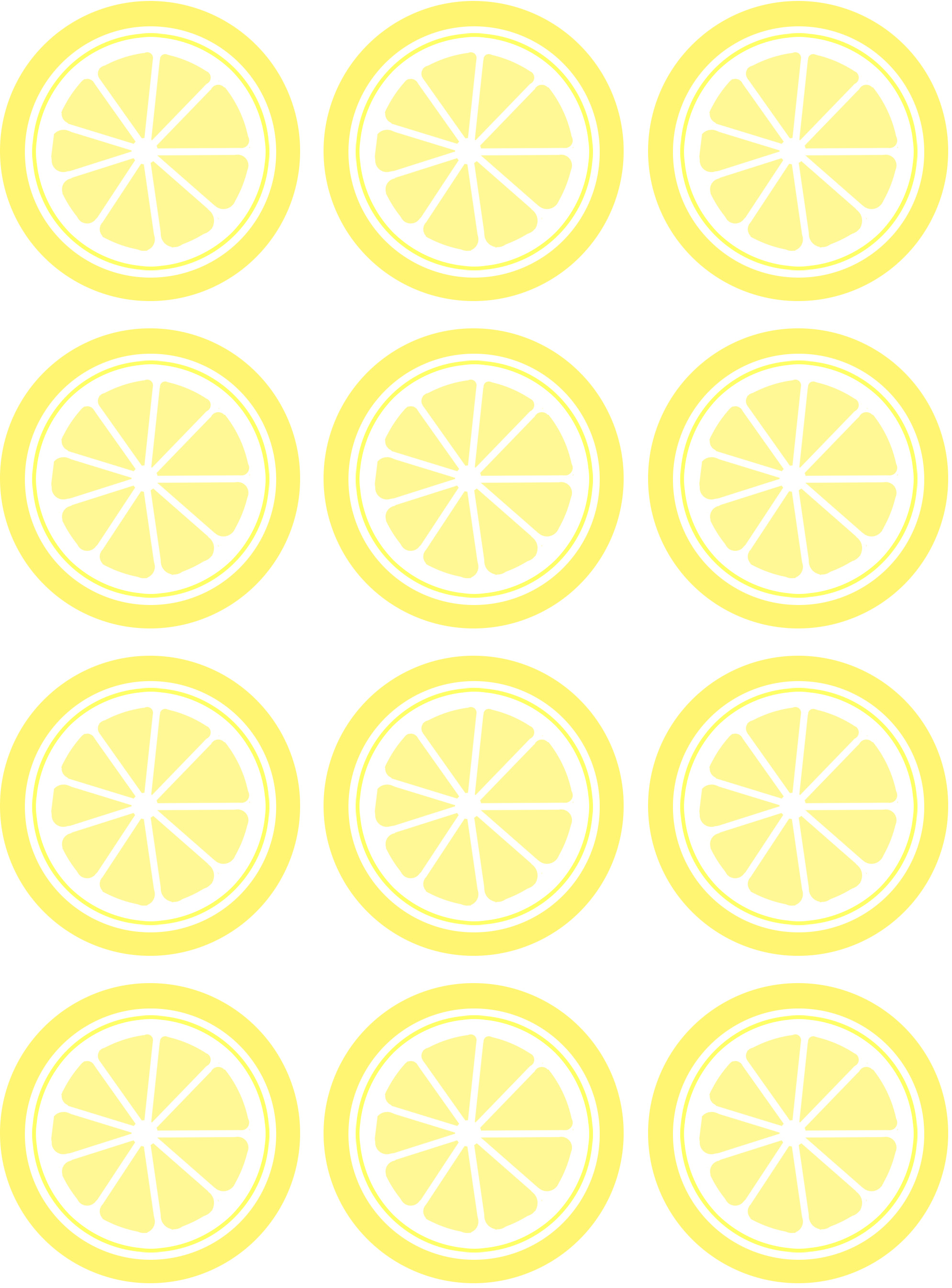 5 Images of Little Printable Pictures Of Lemons